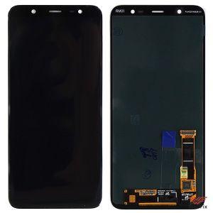 Изображение Дисплей для Samsung Galaxy J8 (2018) SM-J810F в сборе черный