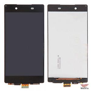 Дисплей Sony Xperia Z3+, Z4 с тачскрином черный