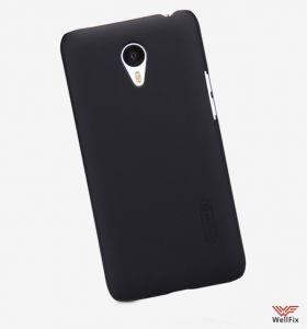 Чехол Meizu M1 Note черный (Nillkin, пластик)