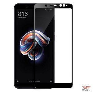 Изображение Защитное 3D стекло для Xiaomi Redmi Note 5 черное