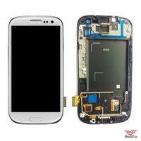 Дисплей Samsung I9300 Galaxy S III с тачскрином белый