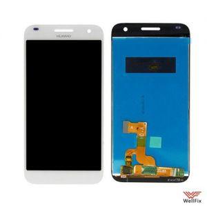 Дисплей Huawei Ascend G7 с тачскрином белый