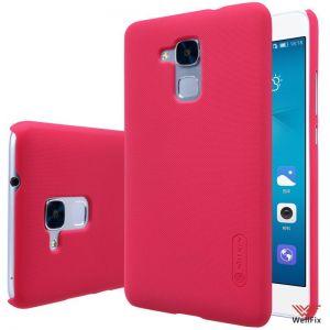 Чехол Huawei Honor 5c красный (Nillkin, пластик)