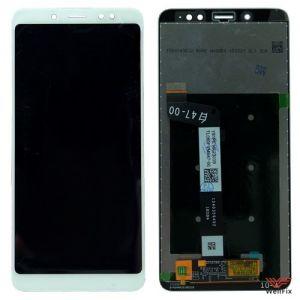 Изображение Дисплей Xiaomi Redmi Note 5 в сборе белый