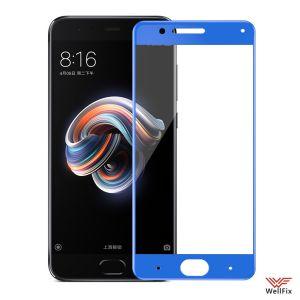 Изображение Защитное 5D стекло для Xiaomi Mi Note 3 синее