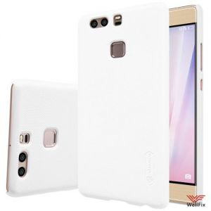 Изображение Пластиковый чехол для Huawei P9 белый (Nillkin)