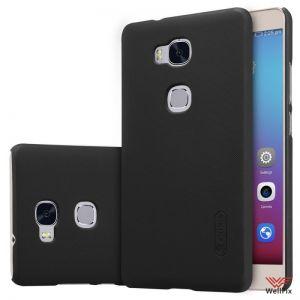 Изображение Пластиковый чехол для Huawei Honor 5X (GR5) черный (Nillkin)
