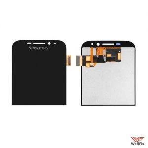 Дисплей BlackBerry Classic с тачскрином черный