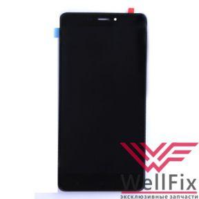 Дисплей Xiaomi Redmi Note 4 с тачскрином черный