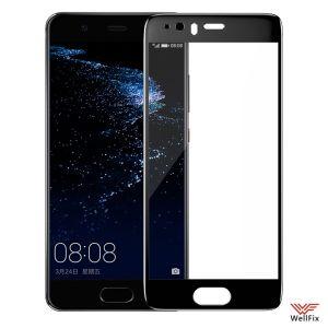 Изображение Защитное 5D стекло для Huawei P10 черное
