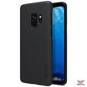 Изображение Пластиковый чехол для Samsung Galaxy S9 черный (Nillkin)
