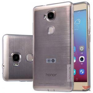 Изображение Силиконовый чехол для Huawei Honor 5X (GR5) белый (Nillkin)
