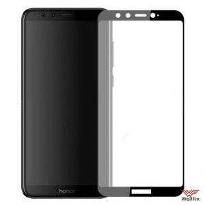 Изображение Защитное 5D стекло для Huawei Honor 9 Lite черное