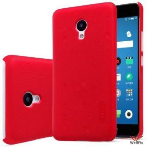 Изображение Пластиковый чехол для Meizu M5 красный (Nillkin)