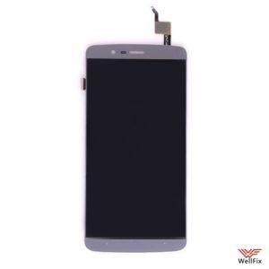 Изображение Дисплей для Elephone P8000 в сборе черный