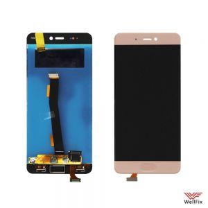 Изображение Дисплей Xiaomi Mi5s в сборе золотой