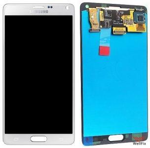 Дисплей Samsung Galaxy Note 4 SM-N910F с тачскрином белый