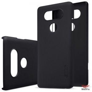 Изображение Пластиковый чехол для LG V20 черный (Nillkin)