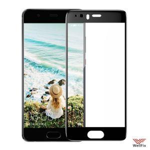 Изображение Защитное 5D стекло для Huawei P10 Plus черное