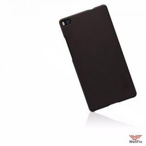 Изображение Пластиковый чехол для Huawei P8 черный (Nillkin)