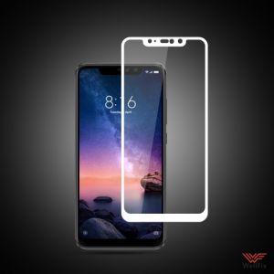 Изображение Защитное 3D стекло для Xiaomi Redmi Note 6 Pro белое