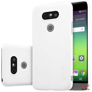 Изображение Пластиковый чехол для LG G5 H845 белый (Nillkin)