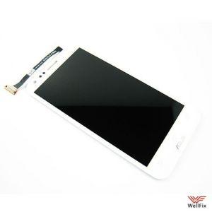 Дисплей Asus Padfone 2 A68 с тачскрином белый