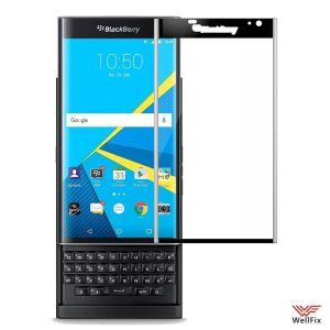 Изображение Защитное 5D стекло для BlackBerry Priv черное