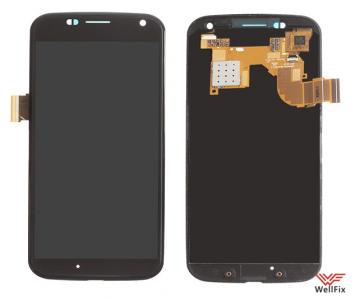 Дисплей Motorola Moto X 2013 с тачскрином черный