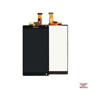 Дисплей Sony Xperia ZL (C6503) L35h c тачскрином черный