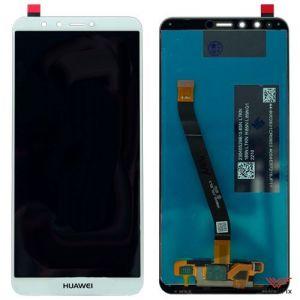 Изображение Дисплей для Huawei Y9 (2018) в сборе белый
