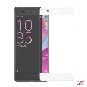 Изображение Защитное 5D стекло для Sony Xperia XA (F3112) белое