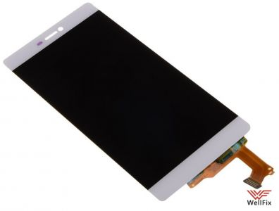 Дисплей Huawei P8 с тачскрином белый