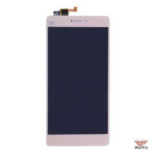 Изображение Дисплей Xiaomi Mi4S в сборе золотой