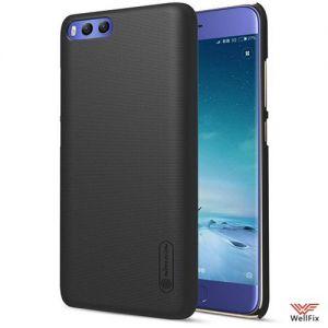Изображение Пластиковый чехол для Xiaomi Mi6 черный (Nillkin)