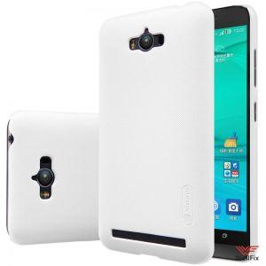 Изображение Пластиковый чехол для Asus ZenFone Max ZC550KL белый (Nillkin)