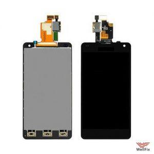 Дисплей LG Optimus G E975 с тачскрином