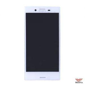 Изображение Дисплей для Sony Xperia X Compact в сборе белый (оригинал)