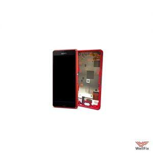 Дисплей Sony Xperia Z3 Compact D5803 с тачскрином красный
