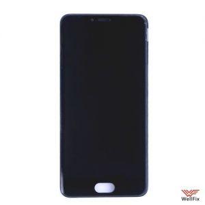 Изображение Дисплей для Meizu M5 в сборе черный