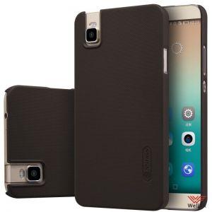 Изображение Пластиковый чехол для Huawei Honor 7i черный (Nillkin)