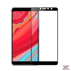Изображение Защитное 3D стекло для Xiaomi Redmi S2 черное