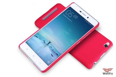 Чехол Xiaomi Redmi 3 красный (Nillkin, пластик)
