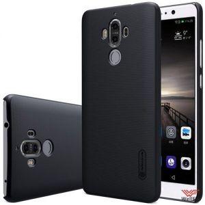 Изображение Пластиковый чехол для Huawei Mate 9 черный (Nillkin)