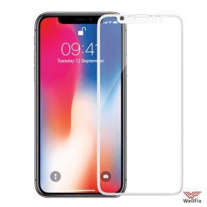 Изображение Защитное 5D стекло для Apple iPhone X, XS, 11 Pro белое