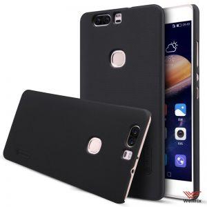 Изображение Пластиковый чехол для Huawei Honor 8 черный (Nillkin)