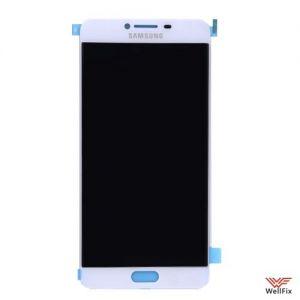 Изображение Дисплей Samsung Galaxy C7 в сборе белый