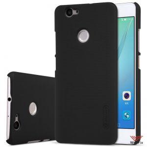 Изображение Пластиковый чехол для Huawei Nova черный (Nillkin)