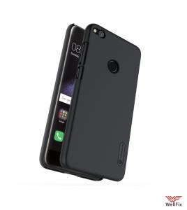 Изображение Пластиковый чехол для Huawei P8 Lite 2017 черный (Nillkin)
