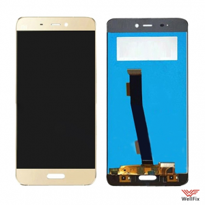 Дисплей Xiaomi Mi5 с тачскрином золотой
